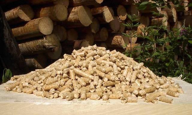 древесные пеллеты заменят уголь